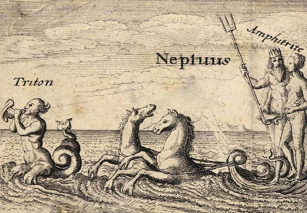Гръцките морски божества