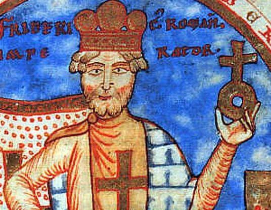 Император Фридрих I Барбароса