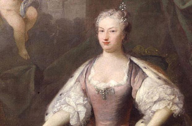 Кралица Каролина фон Бранденгург-Ансбах