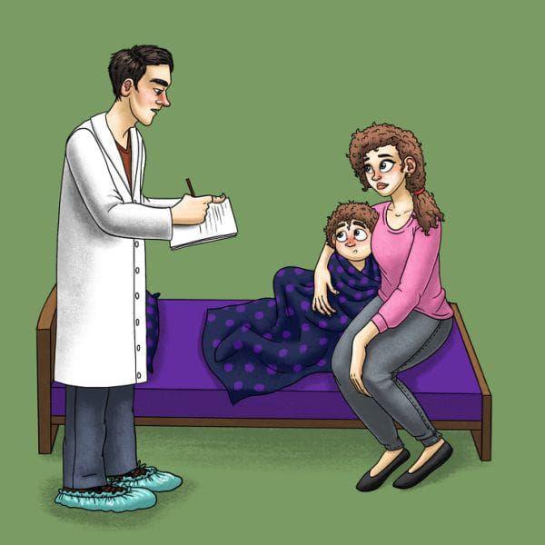Предписване на лекарства за детето