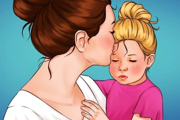 Успокояване на детето