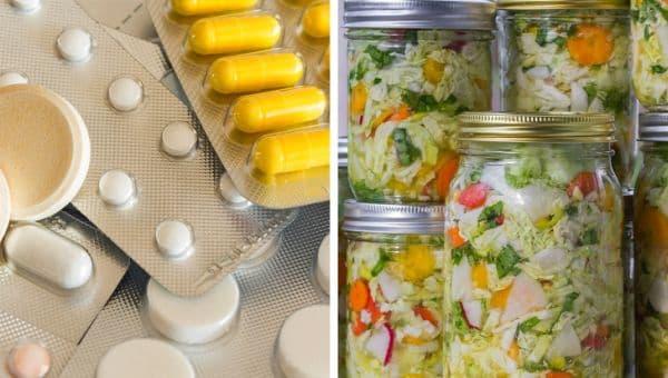 Прием на пробиотици и ферментирали храни
