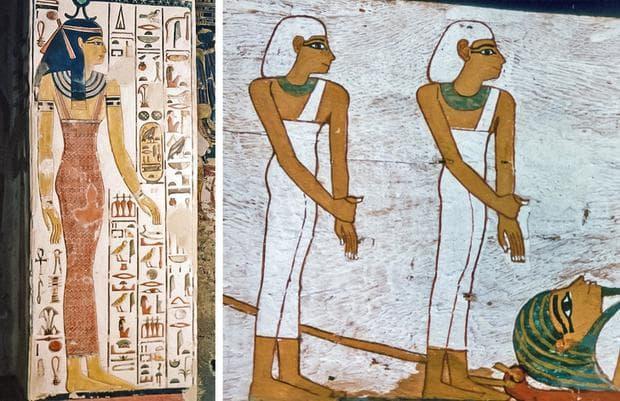 египетските жени