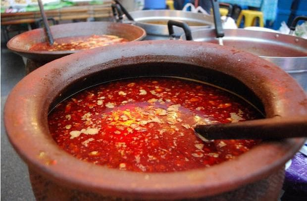 сурова кървава супа