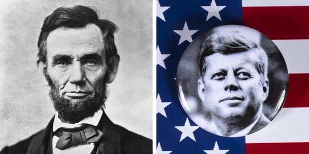 убийствата на Линкълн и Кенеди
