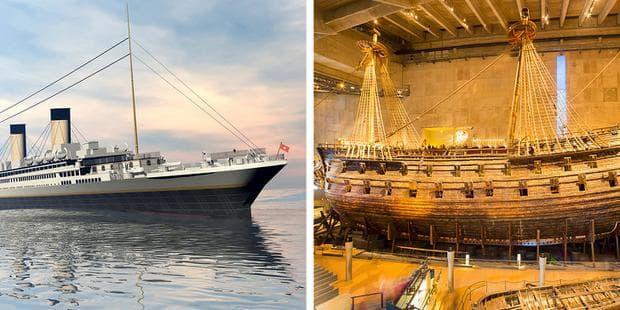 Титаник и Васа