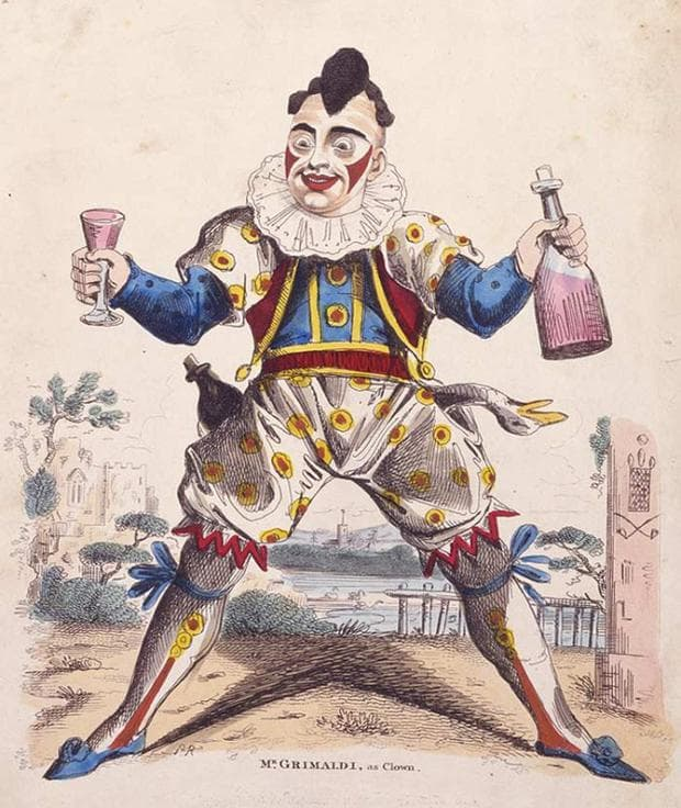 погребален клоун