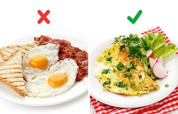 бекон и яйца