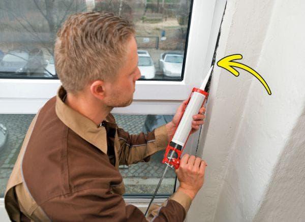 Силикон за уплътняване на прозорците