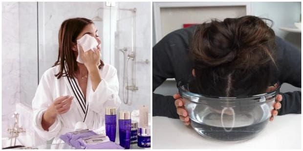измиване на лицето