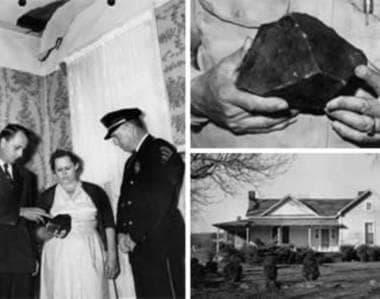 Кадри от дома на семейство Ходжис, дни след необичайния инцидент