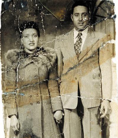 Хенриета Лакс със съпруга си