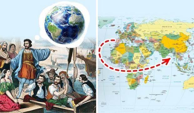 Христофор Колумб и Земята