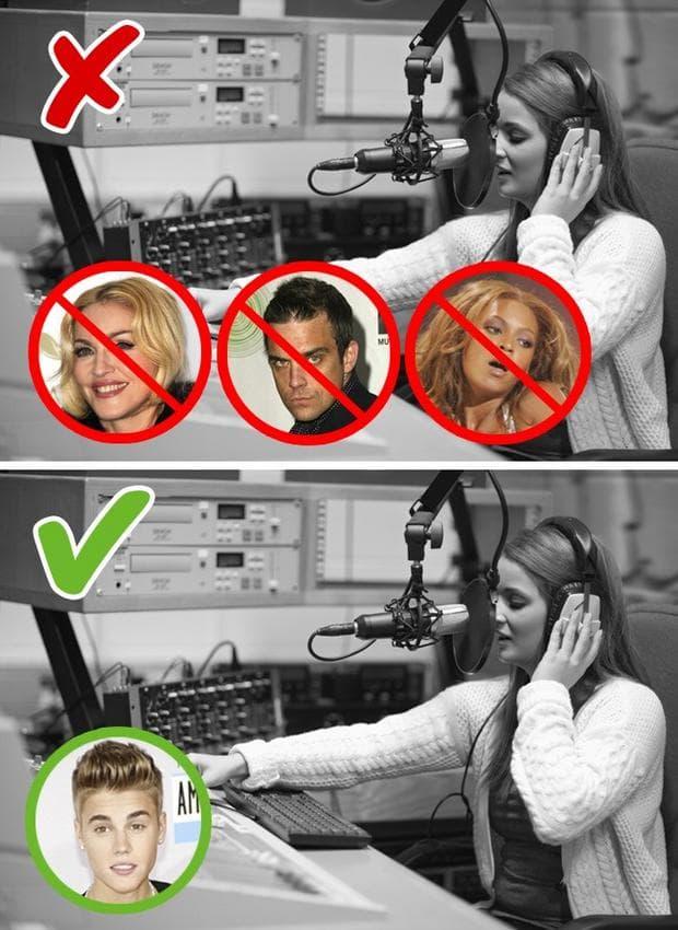 жена със слушалки