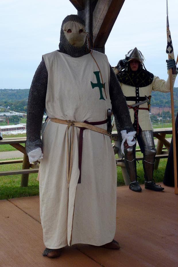 Възстановка на рицар-лазарит