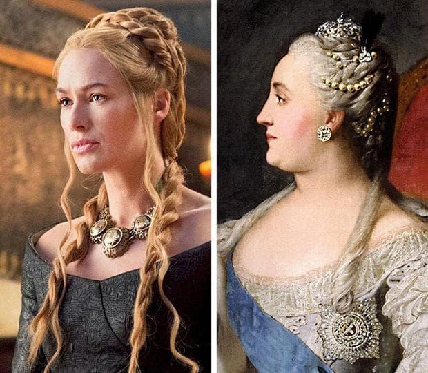 Церсей и Екатерина Велика