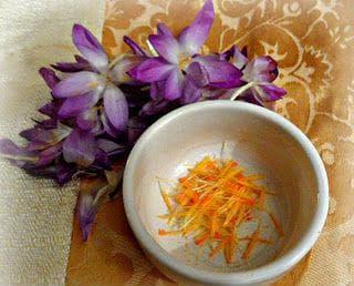 Използване на томасиниев минзухар вместо шафранов