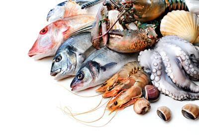 морски дарове и витамини