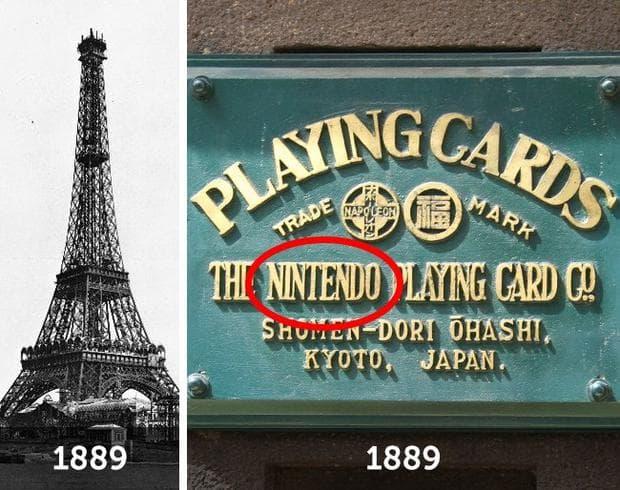 Айфеловата кула и Нинтендо