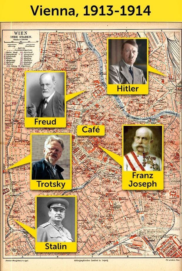 Карта на Виена