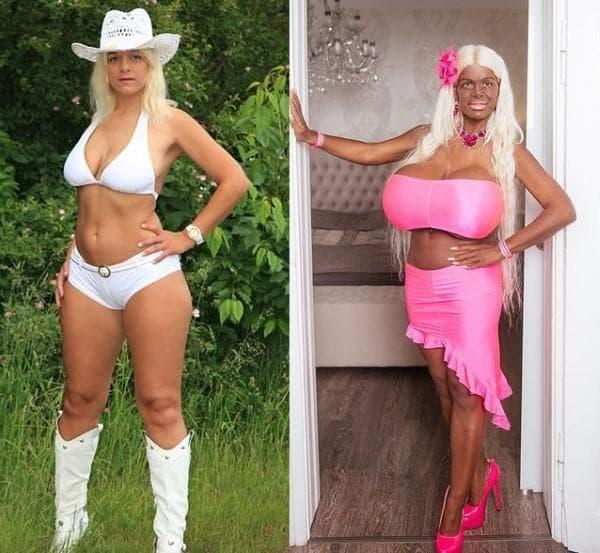 Мартина Биг - преди и сега