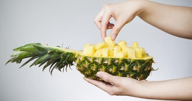 Половин ананас