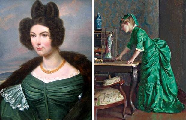 Зелени рокли с мед и арсен