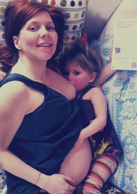 Кърмене през бременността