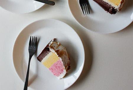 Сладоледена торта Аляска