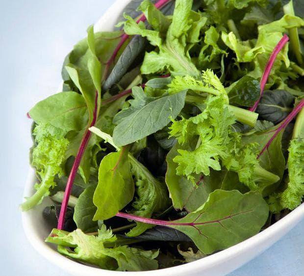 Салата зелени зеленчуци