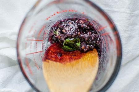 мохито без алкохол с къпини
