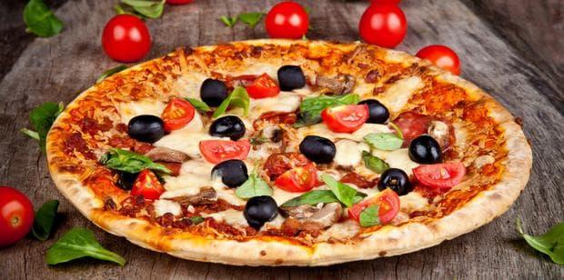 пица с домати