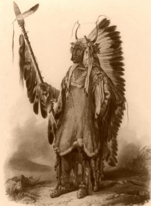 Индиански вожд