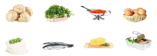 Хранителни източници на витамин Д