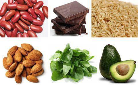 Хранителни източници на магнезий