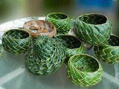декорация с кокосова палма