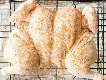 печено пиле с узо