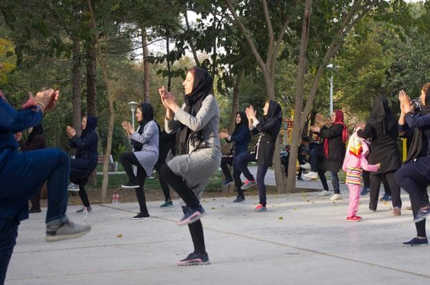 ирански жени