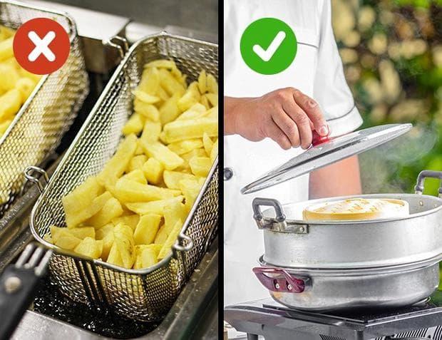 метод на приготвяне на храната