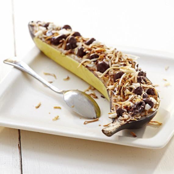 десерт с банан