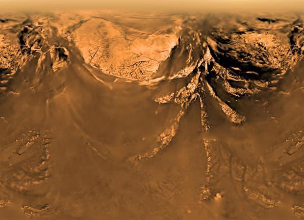 Повърхността на Титан