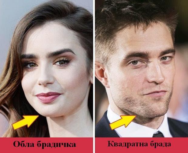 форма на челюстта