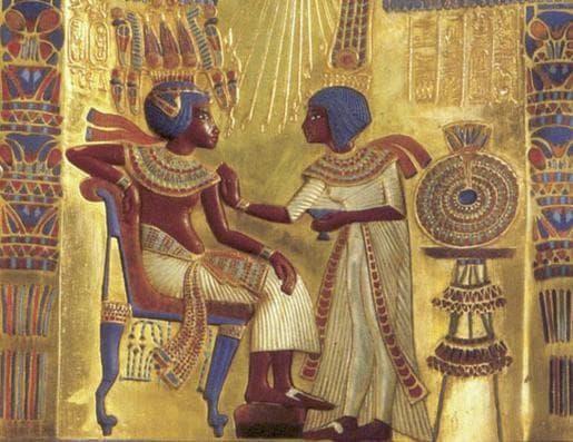 Тутанкамон и съпругата му