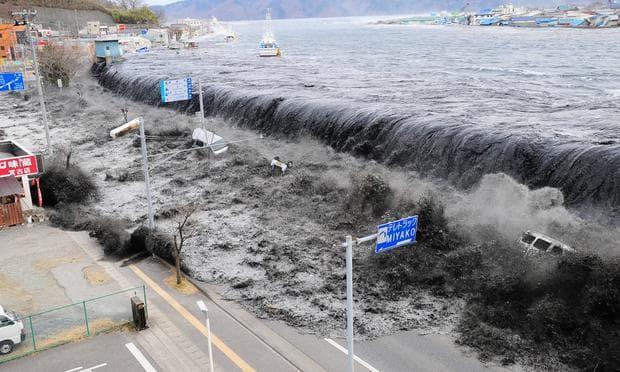 Вълна цунами в Япония