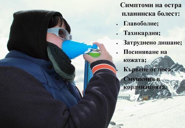 симптоми на остра планинска болест