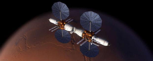 Космическата станция на Lockheed Martin