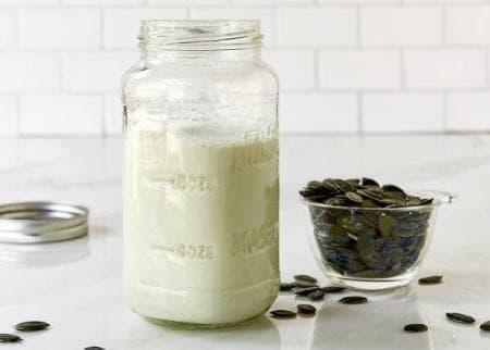 мляко от тиквени семки