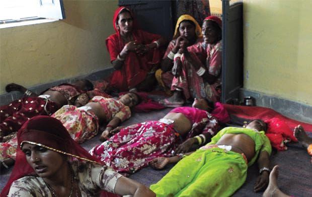 Стерилизация на жени в Индия
