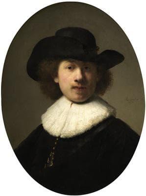 Автопортрет на Рембранд