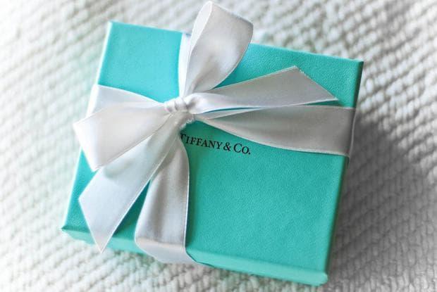 малка синя кутия